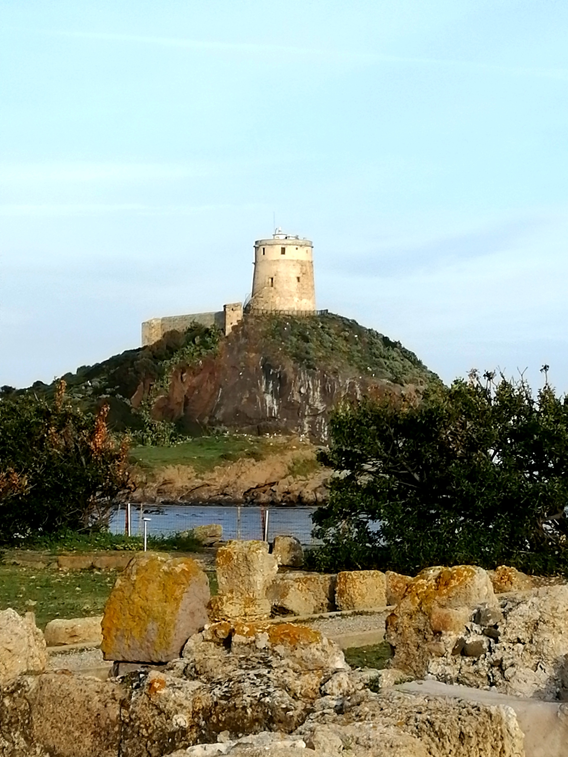 nora  antica città romana sito archeologico