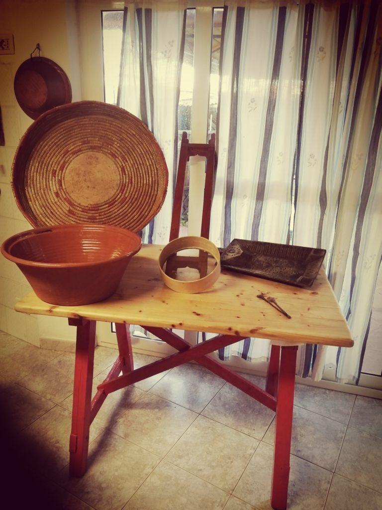 tavolo per fare il pane