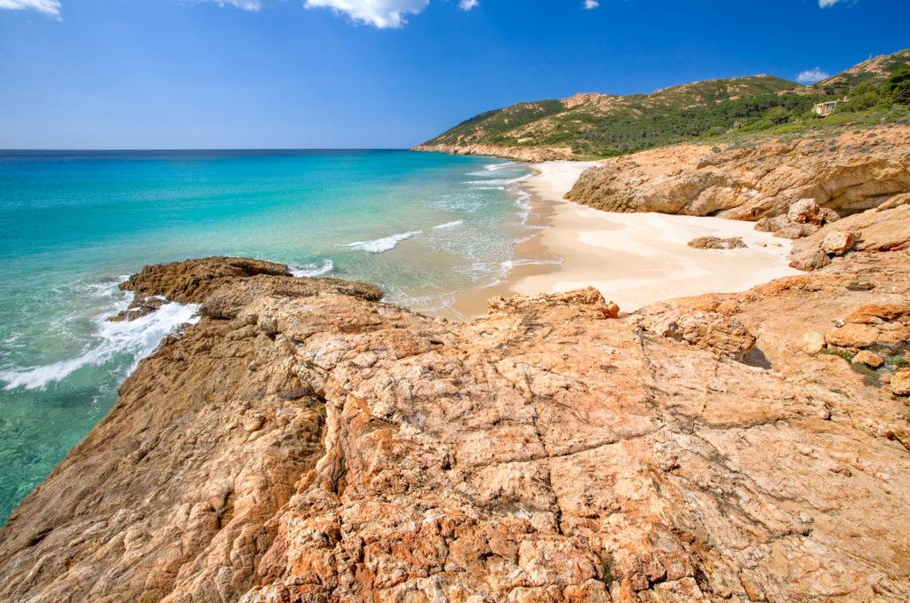 Spiaggia Pinus village-pula Spiagge di Nora-Pula e Santa Margherita In Sardegna