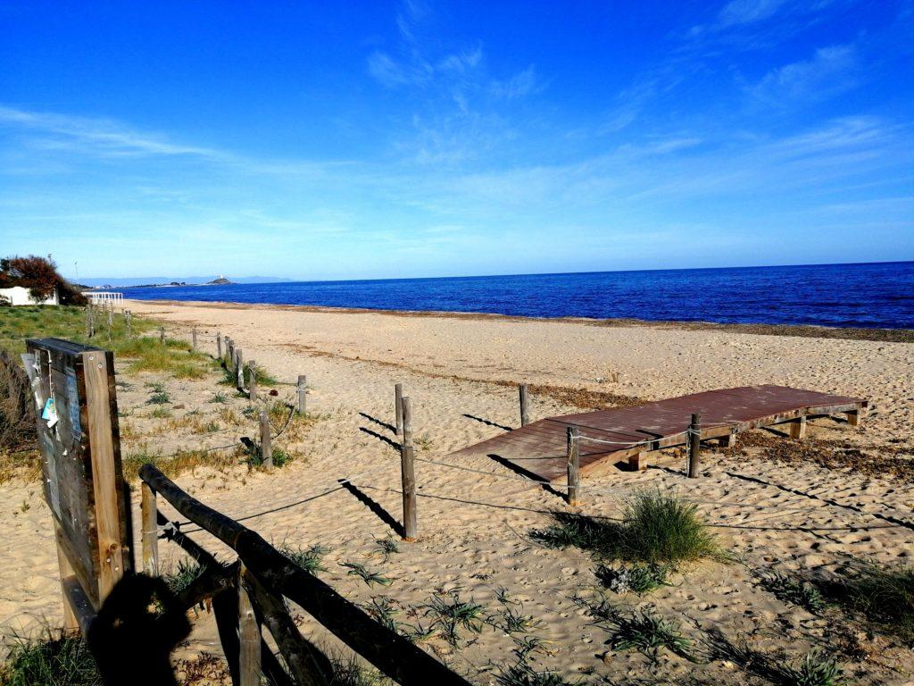 Spiagge di Nora-Pula e Santa Margherita In Sardegna Spiaggia Flamingo