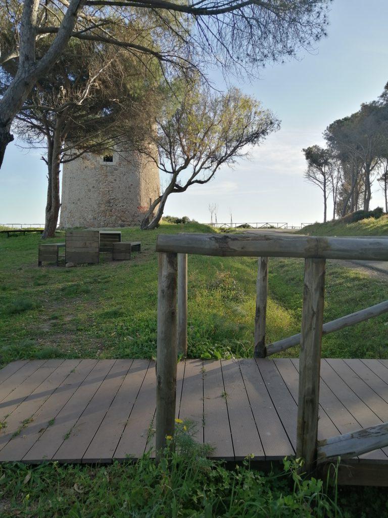 Torre di Cala D'Ostia Santa Margherita parco