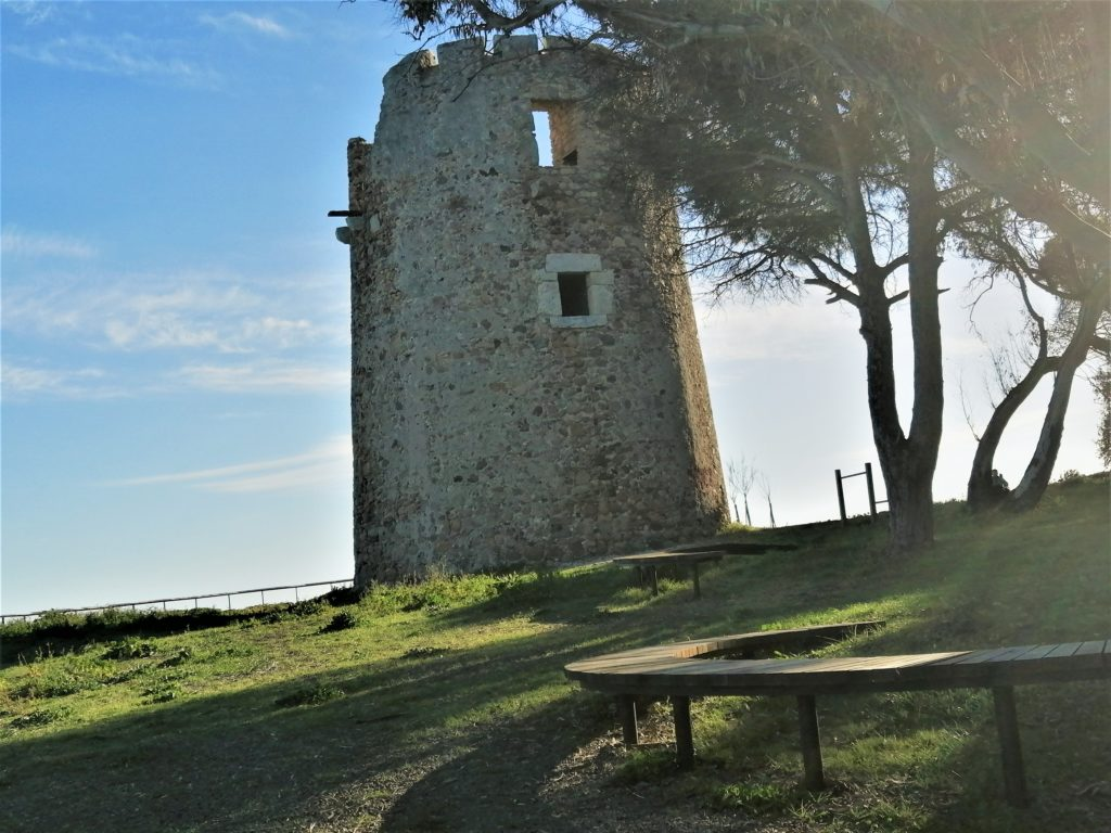 Torre di Cala D'Ostia Santa Margherita Pula